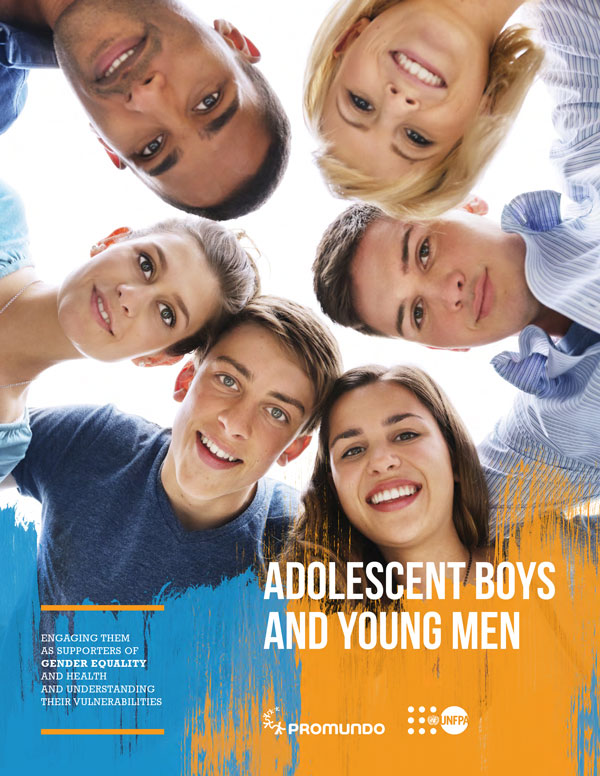 Adolescent Boys and Young Men publication cover