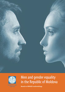 "Cover of ""Men and Gender Equality in the Republic of Moldova"""