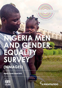"Cover of ""Nigeria Men and Gender Equality Survey (NiMAGES)"""