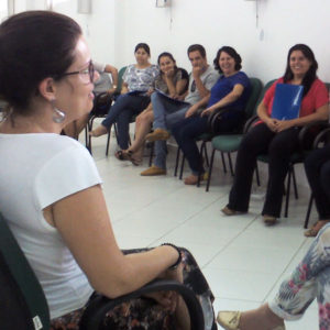Professionals from the Social Assistance Department in Itararé, São Paulo.