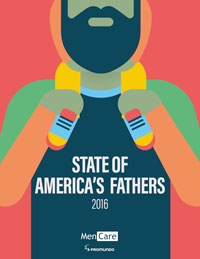 """State of America's Fathers"" report cover."
