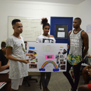 Youth preventing SGBV in Rio