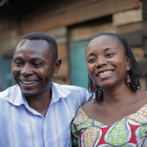 """Portrait of Abby and Kyalu, from the Promundo film """"Living Peace: The Story of Abby and Kyalu."""""""