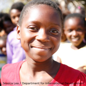 Twelve-year-old Suria started going to a DFID-funded safe space last year. Picture: Jessica Lea/Department for International Development.