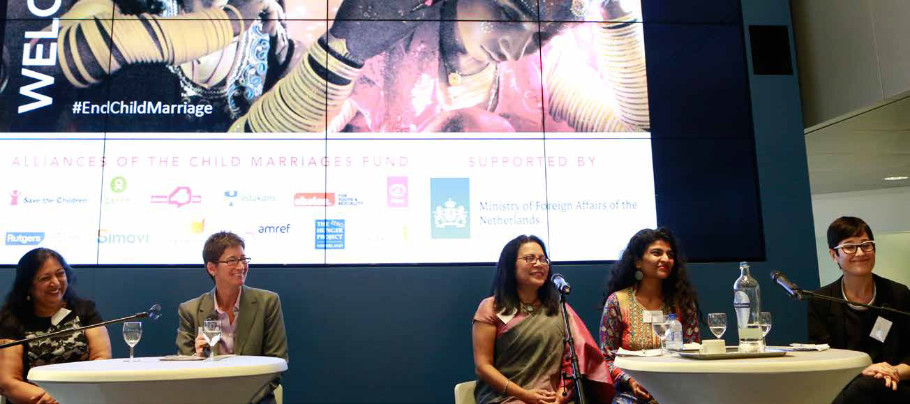 "Expert panel at ""Lifting the Veil: Expert Meeting on Child Marriage."""