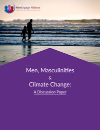 "Cover of ""Men, Masculinities and Climate Change"""