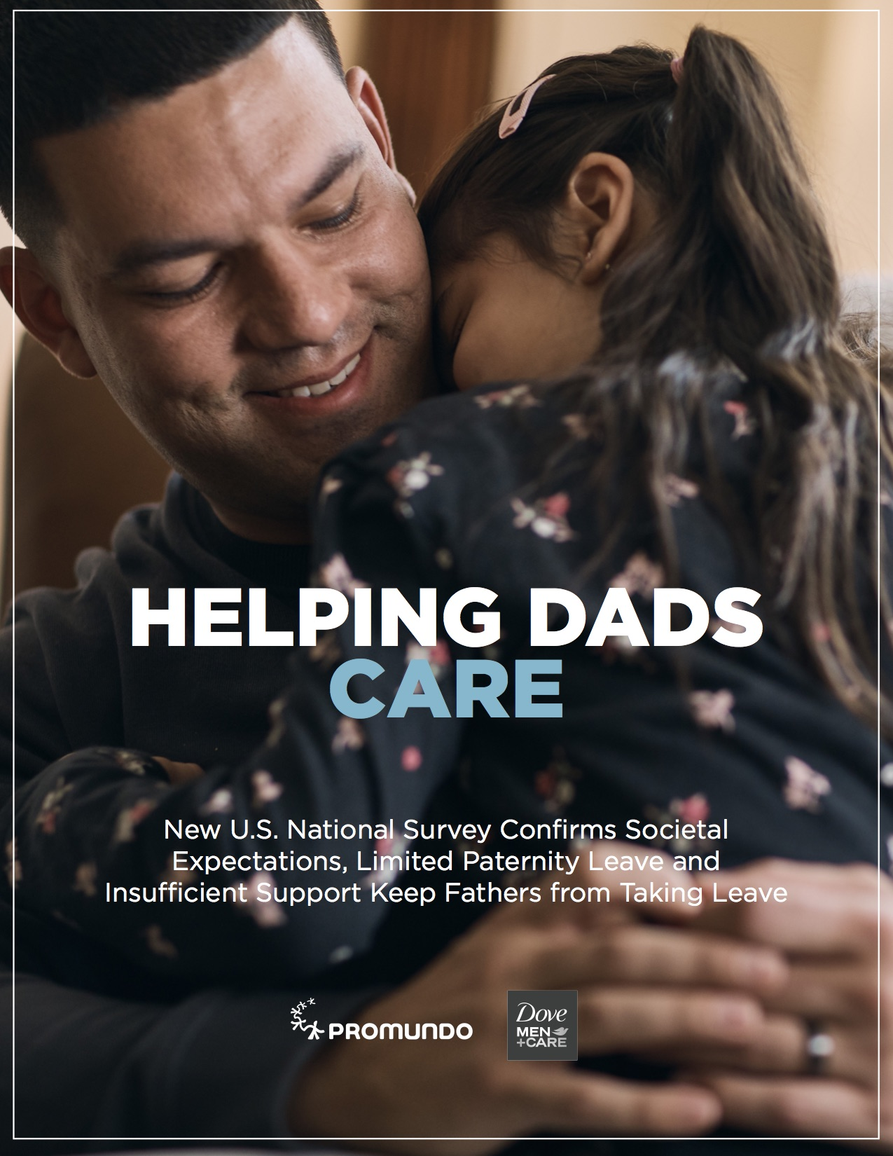 """Helping Dads Care"" report cover"