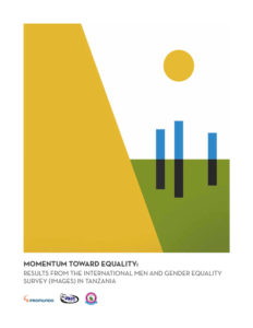 """Cover of the """"Momentum for Equality"""" report."""